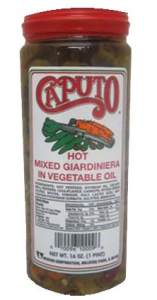 Hot Giardiniera from Caputo