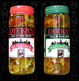 you can buy Ditka's hot and mild giardinieras online