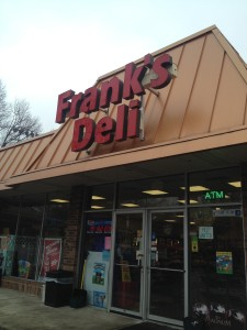 Franks deli in River Forest