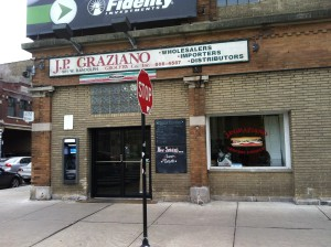 Storefront on Randolph Street