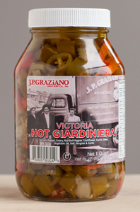 Victoria Brand hot giardiniera