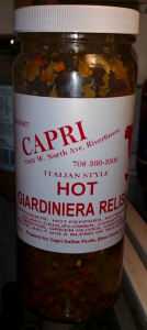 Capri Giardiniera from Riverforest Italian grocers