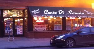 storefront of conte di savoia