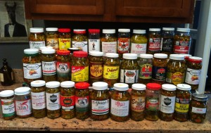 another collection of giardinieras