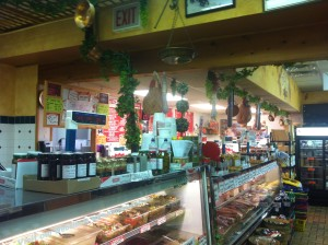 Deli Counter of Amazing Sandwiches at Tonys