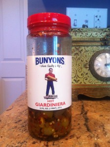 Bunyons Hot Giardiniera from Cicero