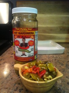 hot giardiniera in bowl from TPG